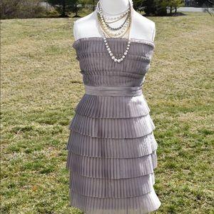 Gorgeous NWT Calvin Klein Cocktail Dress in Pewter